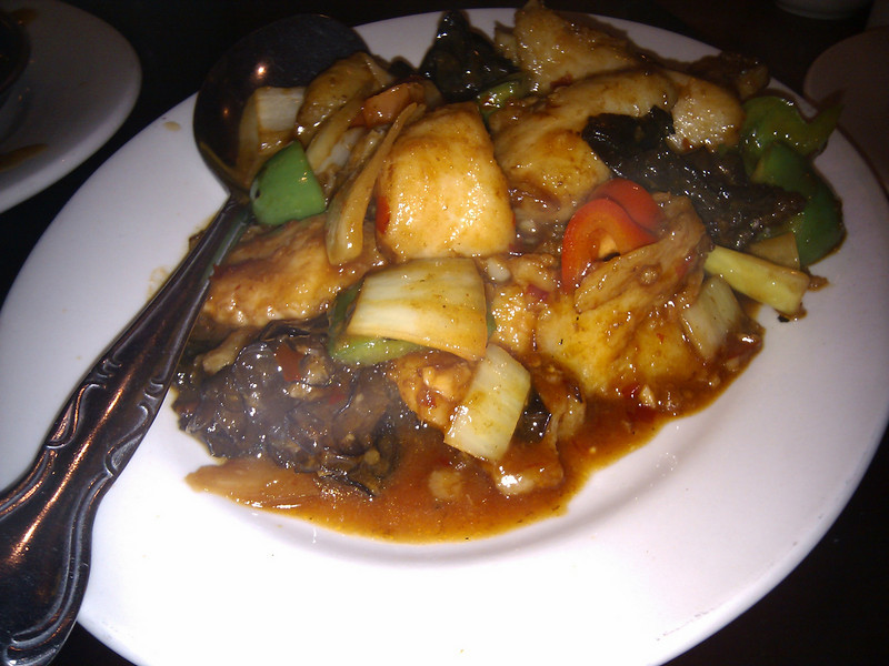 Country Bistro - Fish Fillet with Spicy Garlic Sauce