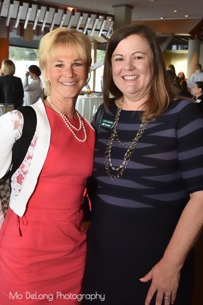 Kathleen Woodcock and Linda Lippstreu