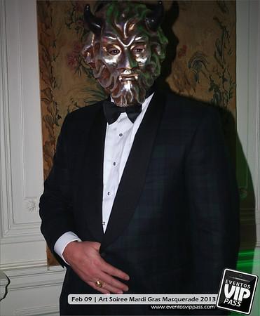 Art Soiree - Mardi Gras Masquerade 2013 | Sat, Feb 09