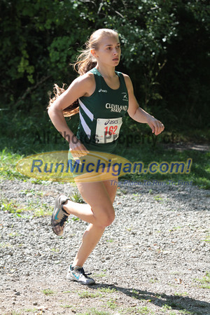 Womens College 5K Start - 2012 Running Fit–Detroit Titan XC Invite
