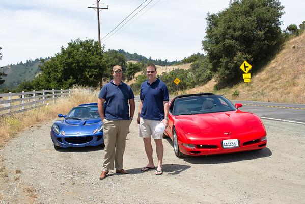 Corvette + Lotus Doudle Date 6.14.14