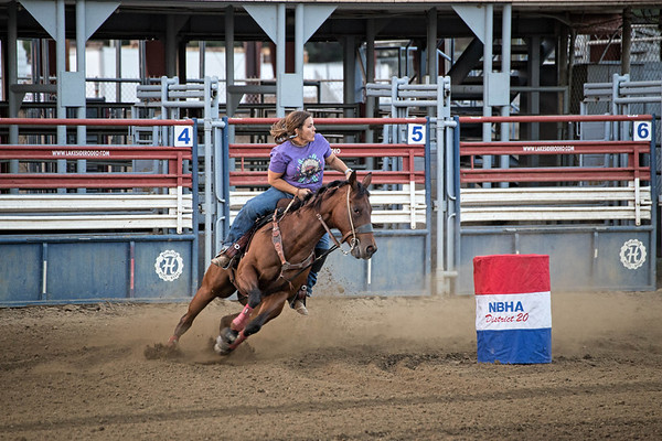NBHA District 20 Barrel Race