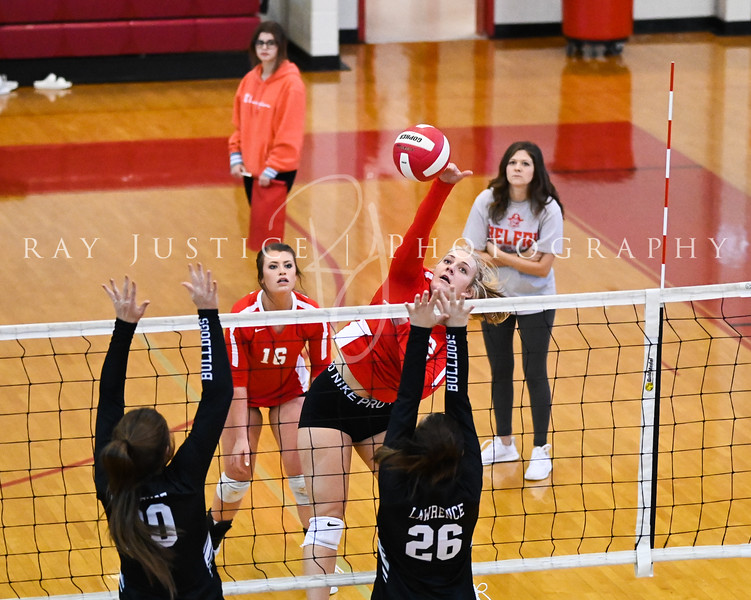 09/27/2021 Belfry Volleyball vs Lawrence County