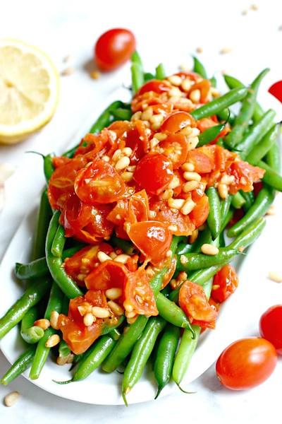 Italian Green Beans - Vegan Italian Recipes