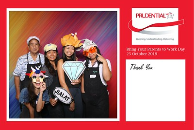 Prudential Bring your parents to work 2019