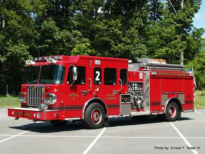 North Reading, MA Fire Apparatus