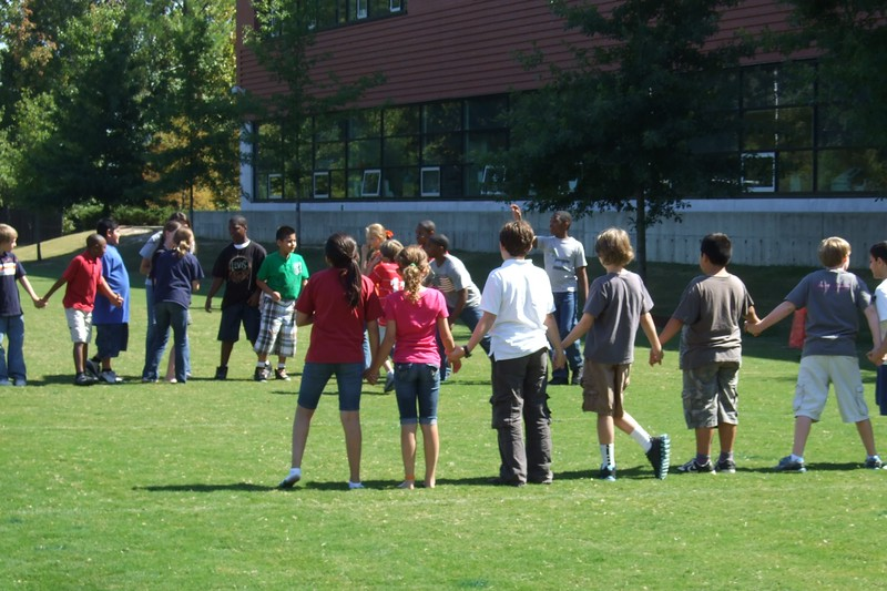 Impromtu game of Red Rover broke out.jpg