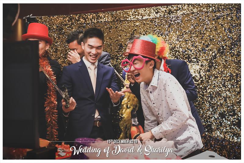 Wedding of David & Sharilyn | © www.SRSLYPhotobooth.sg