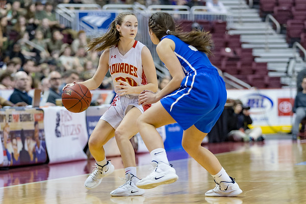2019-03-22 | Girls | Lourdes Regional vs. Berlin | PIAA 1A State Finals)