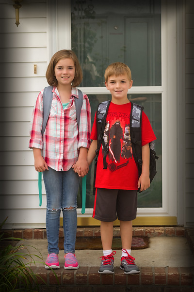 2016-08-03 - First Day of School