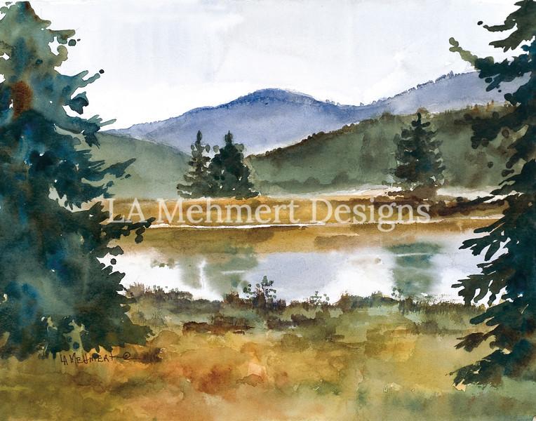 Pond on Upper Bear