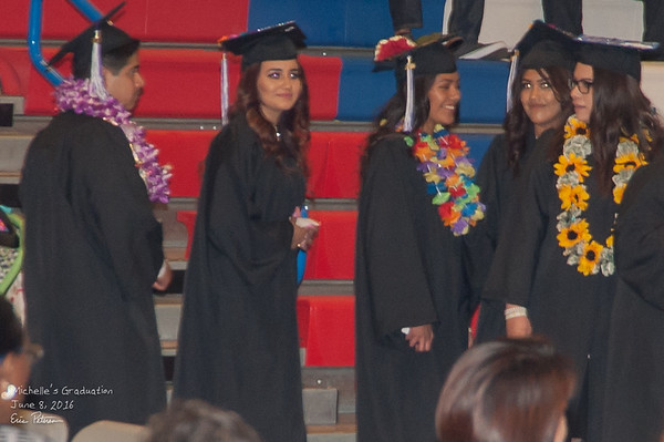 Vianey graduates from high school