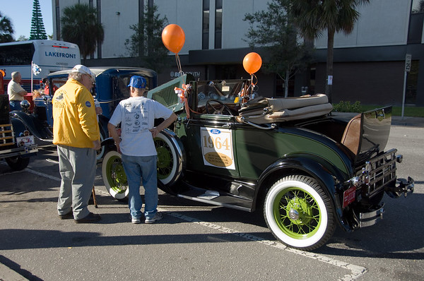 Old Ford Cars from the Orlando Citrus Parade