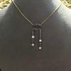 1.80ctw Antique Diamond and Sapphire Negligee Pendant 13