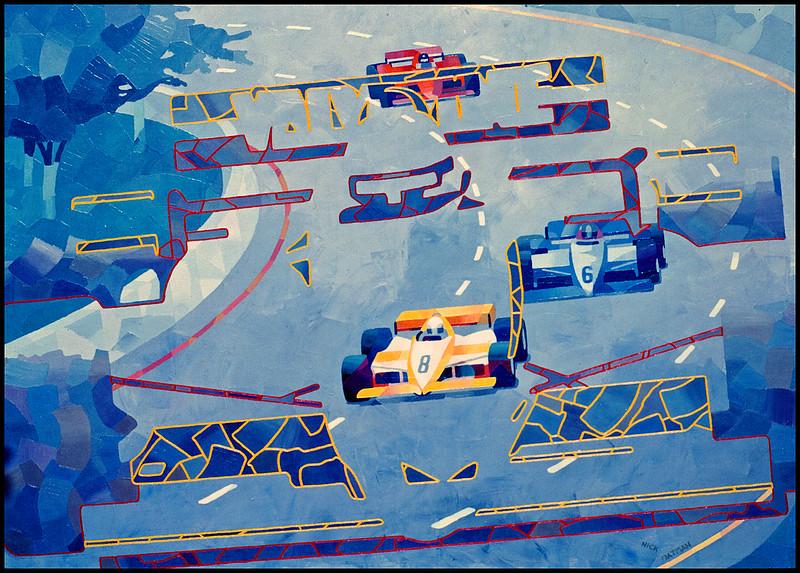 Ghost Race Cars