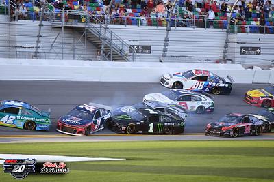 Daytona Int'l Speedway - NASCAR - Busch Clash & Qualifying - 2/9/20 - Rob Sweeten