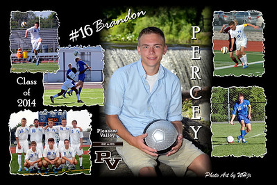 2014-2015 Boys Soccer Action Posters
