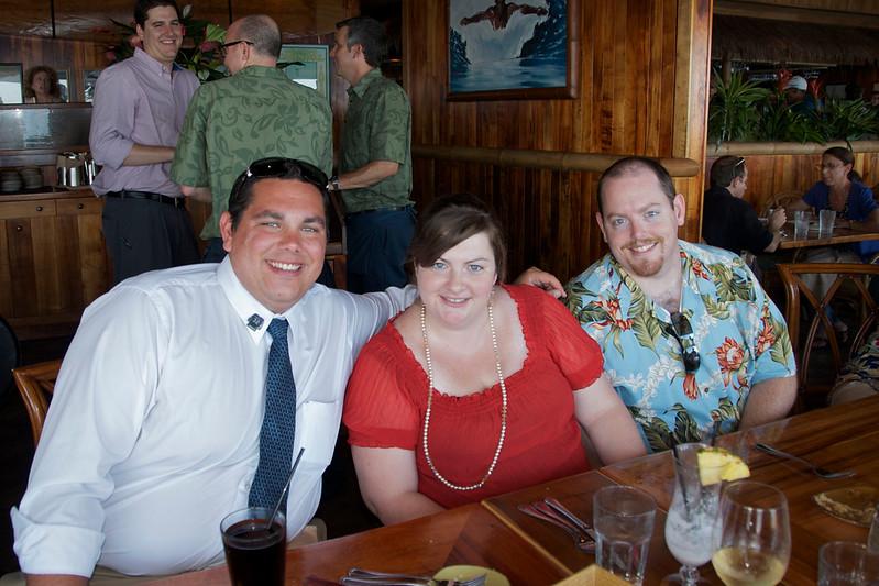 Cousins Patrick, Sarah and Paul.