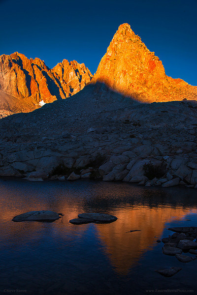 Isosceles Peak Eastern Sierra Nevada Kings Canyon