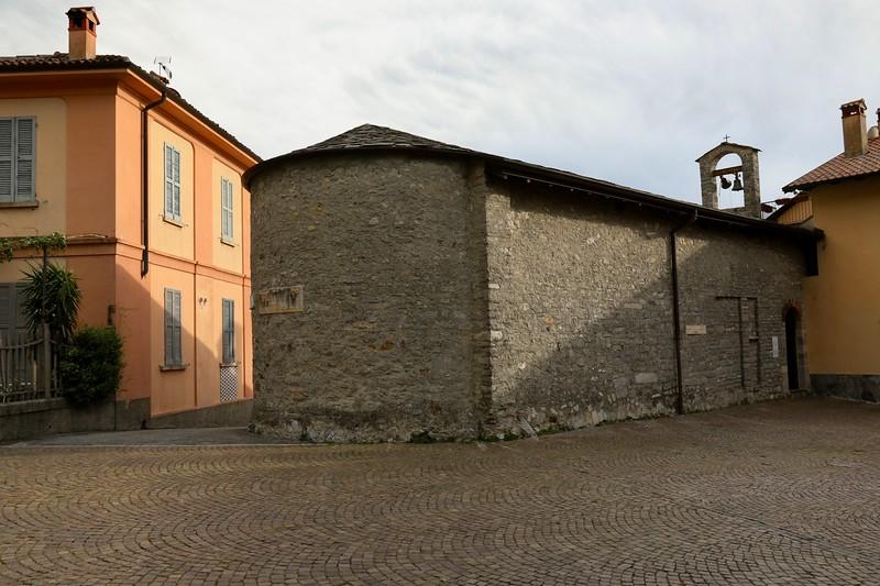 San Giovanni Battista church dates back to the 11th century - Varenna, Italy - Lake Como