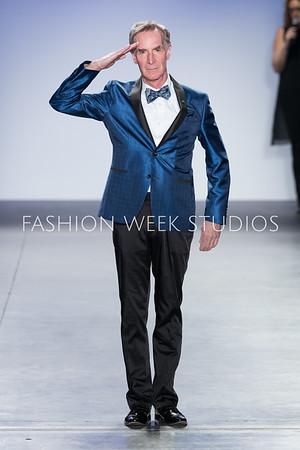 FW18 - Blue Jacket Fashion Show