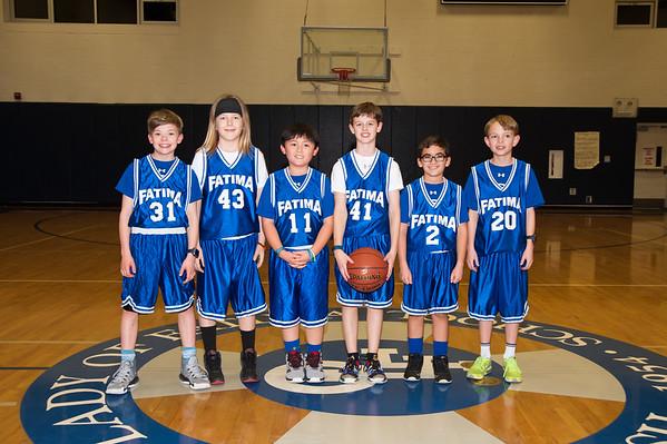 2016-17 5th Boys hoops Blue Team DJ