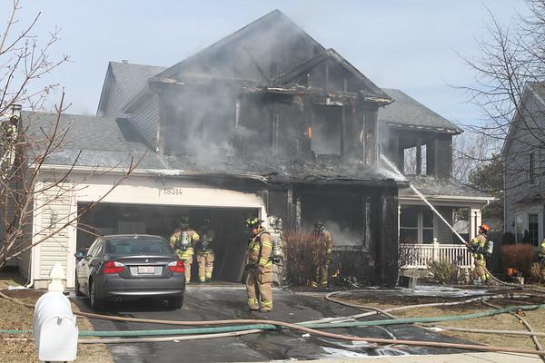Gurnee Fire Rescue Dept Working Fire 18314 W Springwood