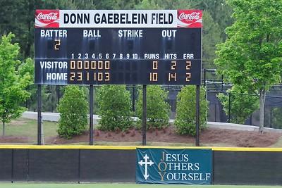 2007 - 2008 Wesleyan Baseball vs. Callaway