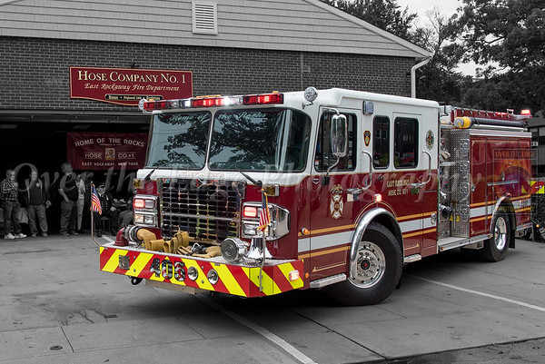 Engine 405 Dedication & Wetdown 10/14/2018