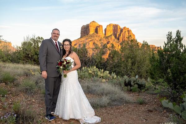 Ashley & Tim's Sedona Wedding
