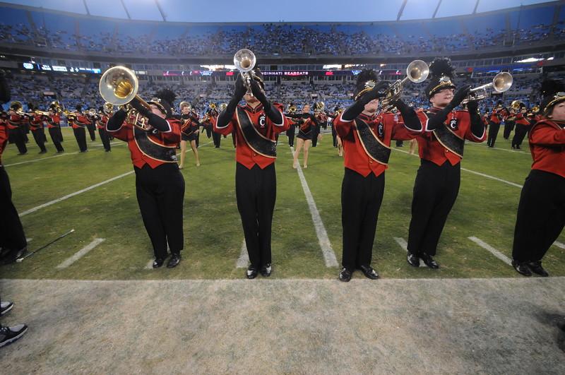 UC Band_Belk Bowl_Charlotte, NC