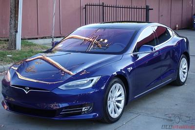 Tesla Model S 100D - Deep Blue Metallic
