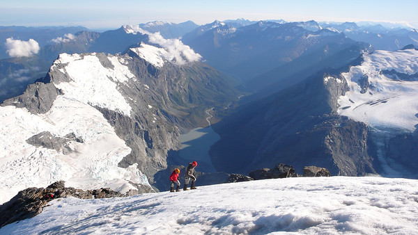 Mt Aspiring NW Ridge 16-18 February 2011