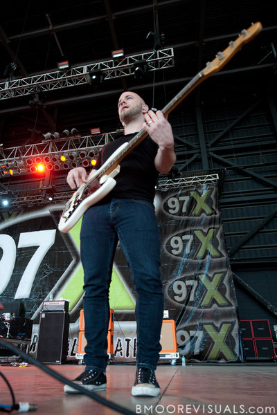 Shaun Cooper of Taking Back Sunday performs on December 3, 2011 during 97X Next Big Thing at 1-800-ASK-GARY Amphitheatre in Tampa, Florida
