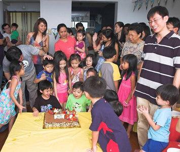 John's & Jeremy's 5th birthday party