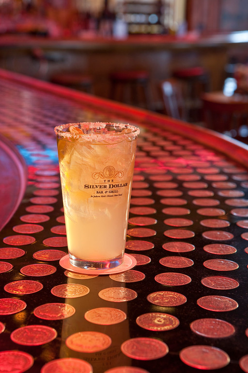. The perfect proportions are what makes the Silver Dollar Bar\'s margarita worth its weight in, well, silver at the Wort Hotel.  Kyle Wagner, The Denver Post