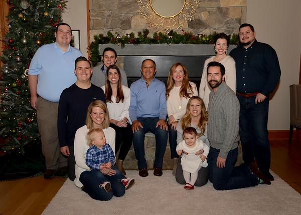 Atieh Christmas Family Photos 2017