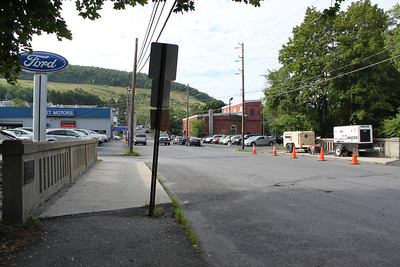 Greenwood St Bridge To Be Closed, Tamaqua (7-28-2011)