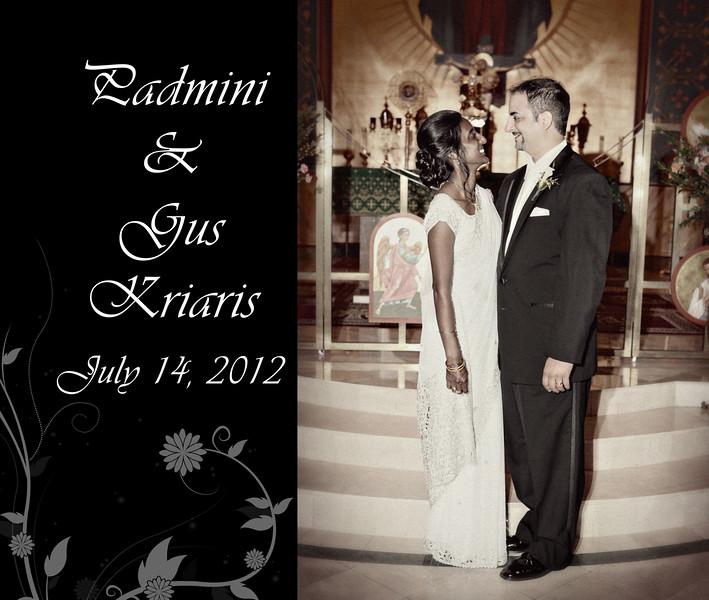 Padmini & Gus 13x11 Wedding Album