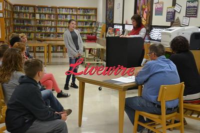 JCC Middle School Spelling Bee 2018