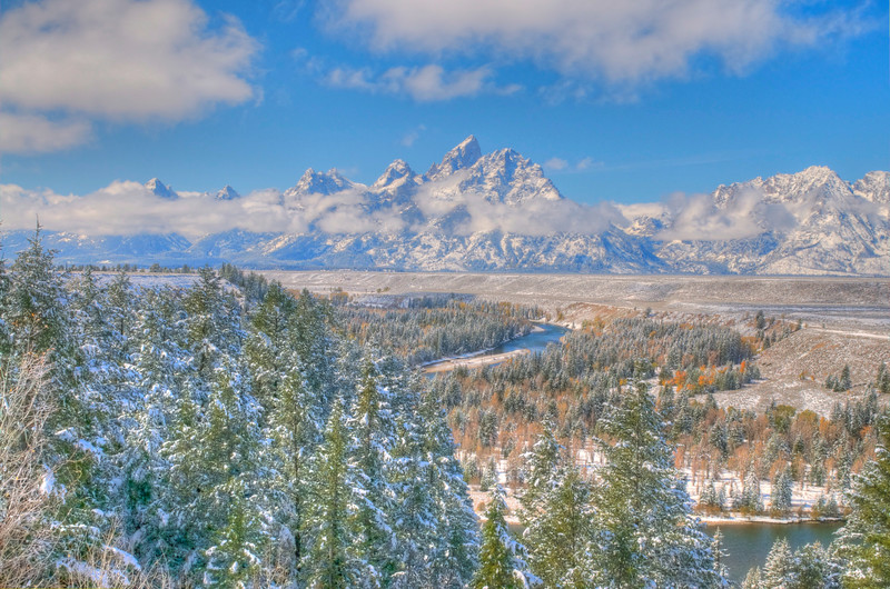 Snake River Bend, Grand Tetons