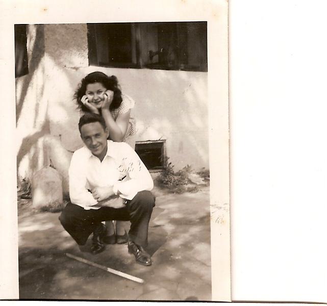 Elder Porter in Texas he baptized me 1947.jpg