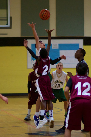 8th Gr. Rockets Vs. Morristown 12/21/13