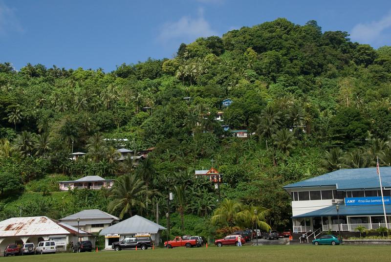 Pago Pago Hillside in American Samoa