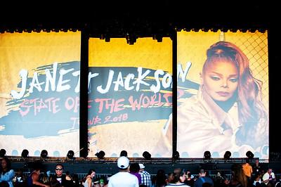 Janet Jackson PNC Music Pavilion 8-3-18 by Jon Strayhorn