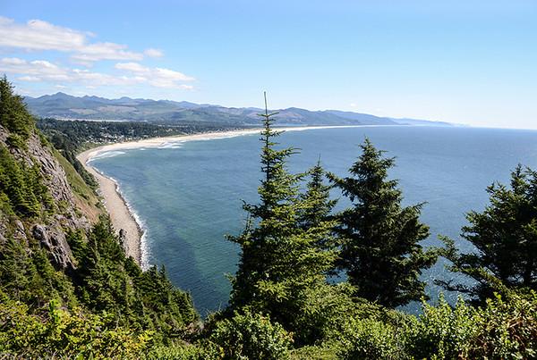 0827 ocean  Oregon's version.  Just outside of Manzanita.