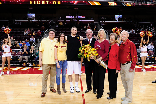 USC Men's Basketball v WSU (Senior Day) - 2012