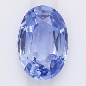 2.60 Oval light blue sapphire (pcs-a018)