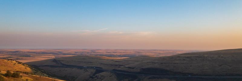 Overlooking Pendleton, OR Sunrise