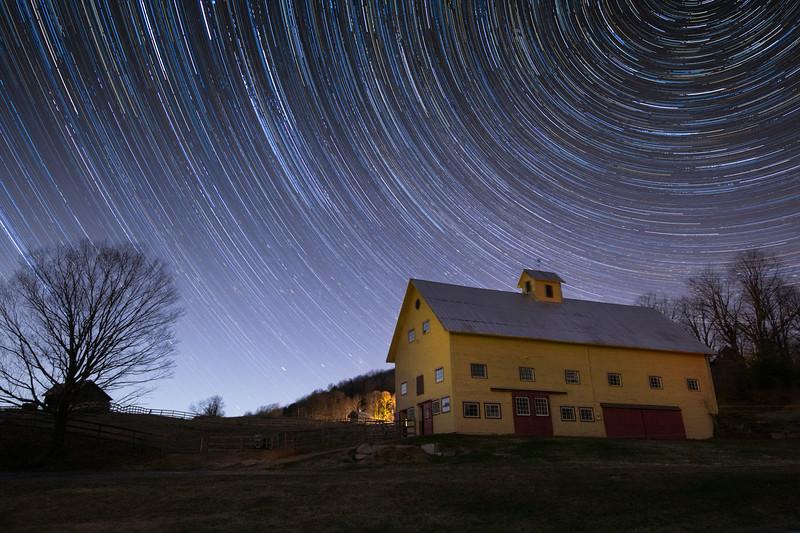 Stoddard Vermont Star Trails